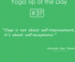 37.Yoga is not about self-improvement
