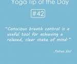 Conscious breath control tool for achive relexed
