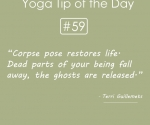 Corpse pose-restores-life