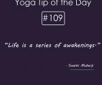 Life is a series of awakenings