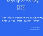 Yoga is the most healing salve