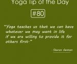 Yoga teaches us