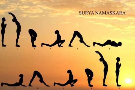 Surya Namaskar (Sun Salutation) Sequences