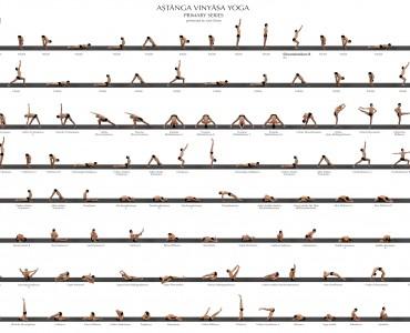ashtanga vinyasa yoga series
