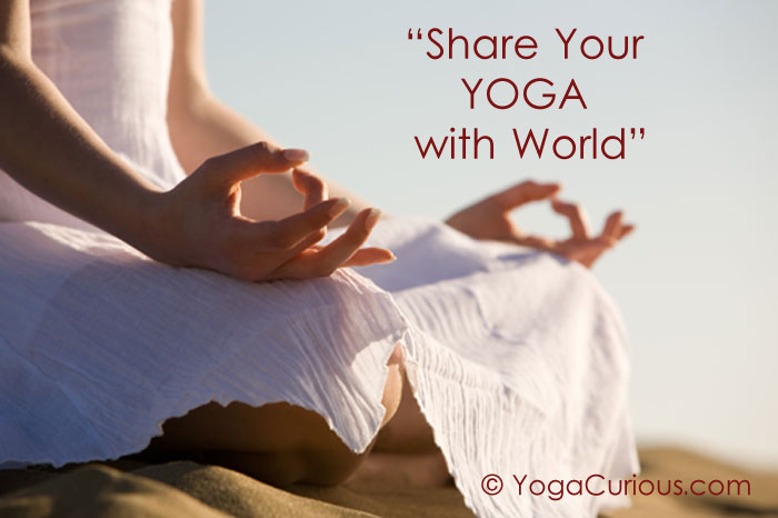 Share your yoga