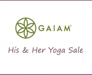 Gaiam Yoga Product Sale