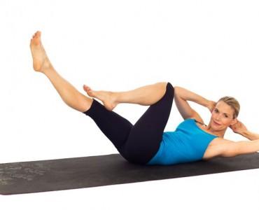 kristin yoga pose