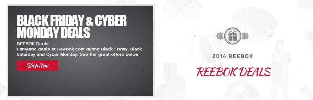 Reebok Black Friday & Cyber Monday Deals on Reebok Shoes