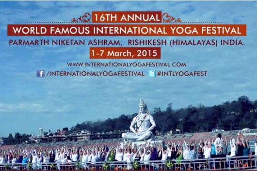 16th Annual International Yoga Festival 2015