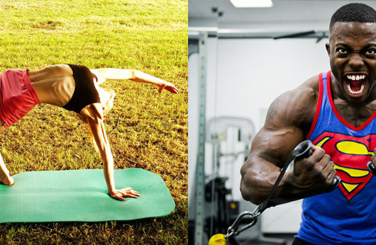 Yoga Vs Gym Exercise