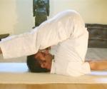 halasana plow yoga pose