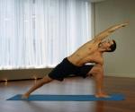 side angle yoga pose j.brown