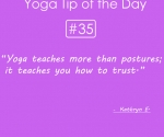 35.Yoga teaches more than postures