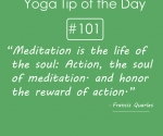 Meditation is the life of the soul