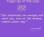 Sun salutations-energize-warm-you