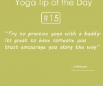 Try to Practice Yoga with a Buddy
