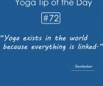 Yoga exists in the world