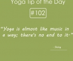 Yoga is almost like music in a way
