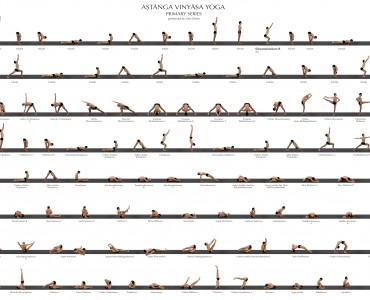 ashtanga vinyasa yoga series