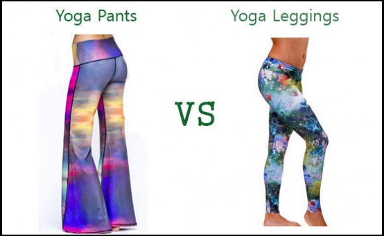 Yoga Pants vs Yoga Leggings