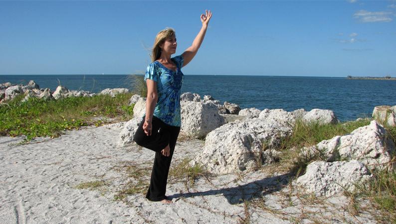 Cindy Bartz - yoga pose exercise