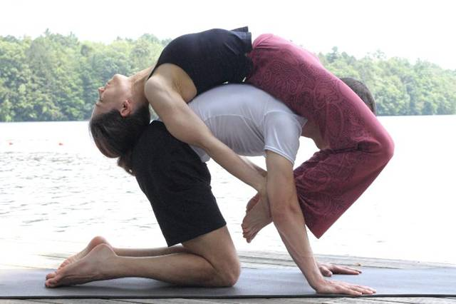 8 Yoga Poses For Partners