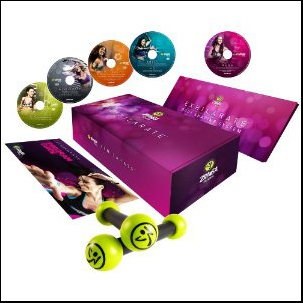 Exhilarate Body Shaping System DVDs From Zumba