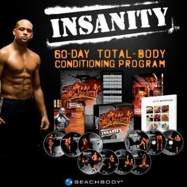 Insanity Workout DVDs set