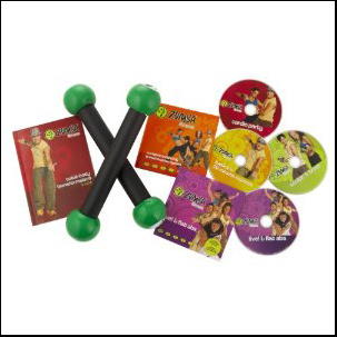 Zumba Fitness Total Body Transformation DVD set