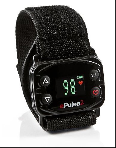 ePulse2 Heart Rate Monitor Watch