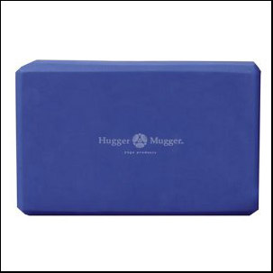 Yoga block in Foam material by hugger mugger