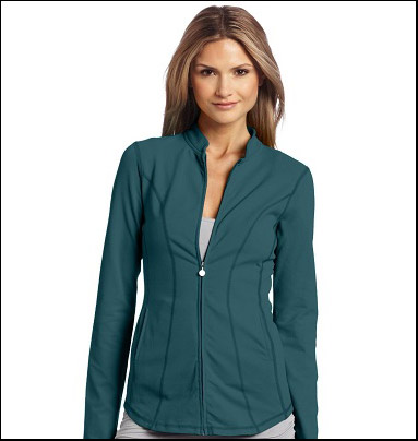 Women's long curve jacket by beyond yoga