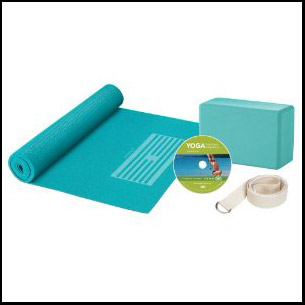 yoga kit for beginners by gaiam