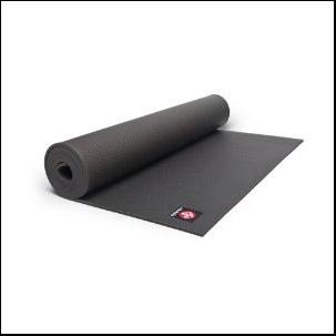 blackmat pro yoga mat by manduka