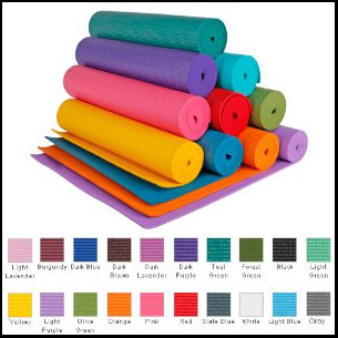 Thick Deluxe Yoga Mat by YogaAccessories